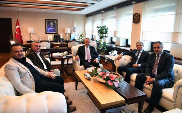 UDH Bakanı'mız Sn. Ahmet Arslan'ı Ziyaret Ettik