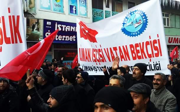 """Tatvan Temsilciliği'miz Bitlis'te """"Teröre Karşı Birlik Mitingi""""ne Katıldı"""