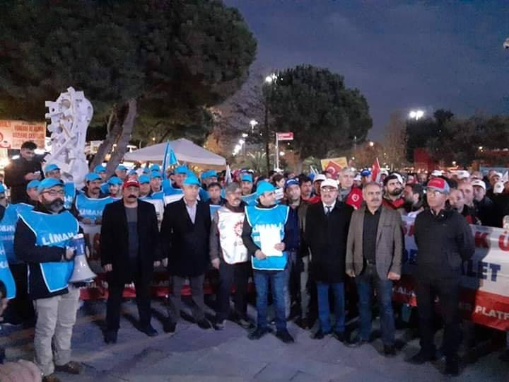 İstanbul İşçi Sendiklar Platformu Kuruldu