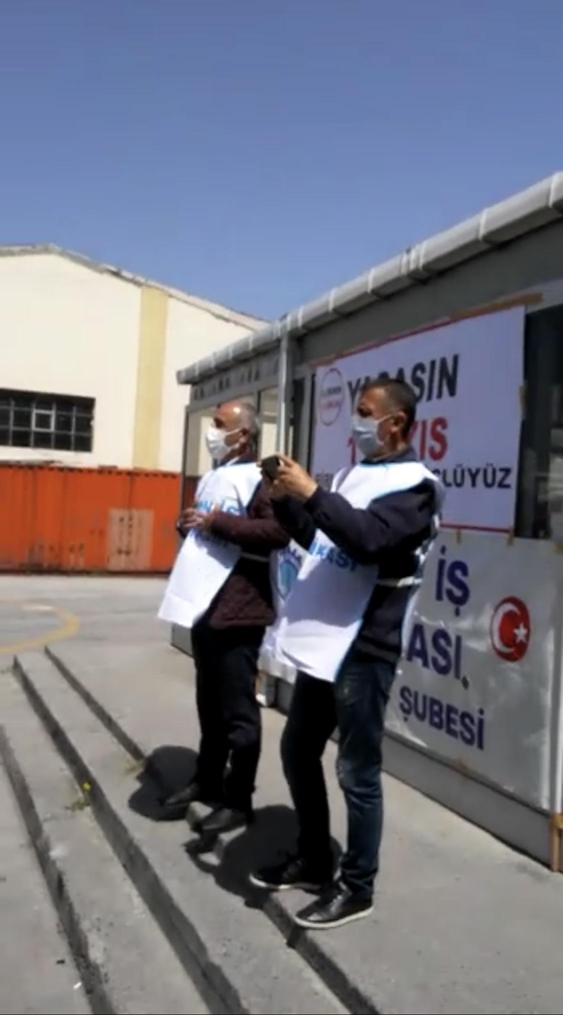 İstanbul Şube Başkanlığının Haydar Paşa Limanındaki 1 Mayıs Etkinliği